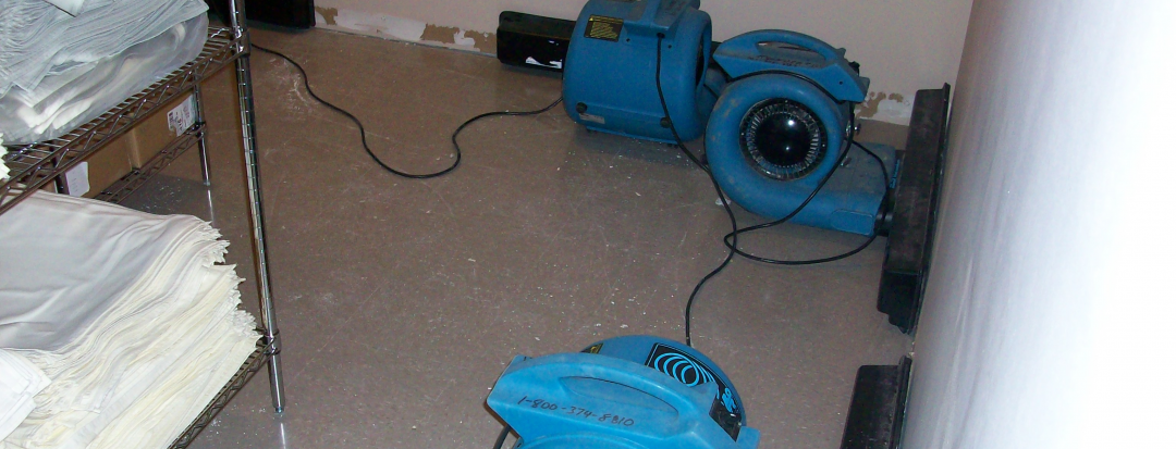 Water Damage Cleanup Hotel